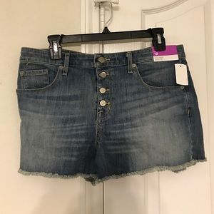 NWT Mossimo High Rise Shorts size 12